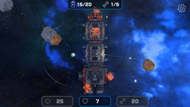 Asteroid Challenge Gameplay
