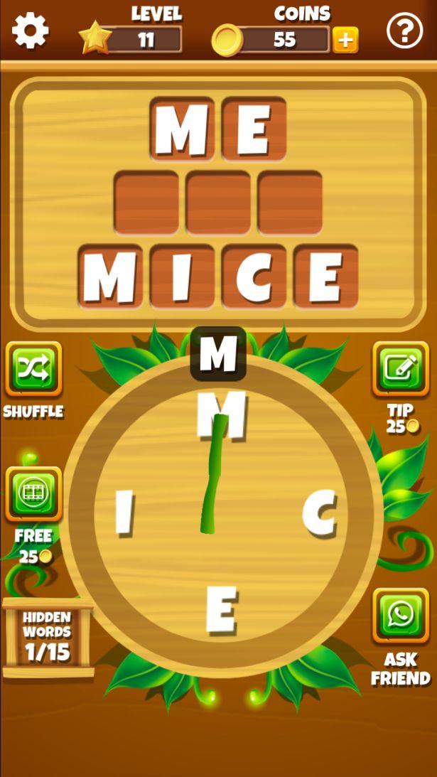 Word Jungle Gameplay