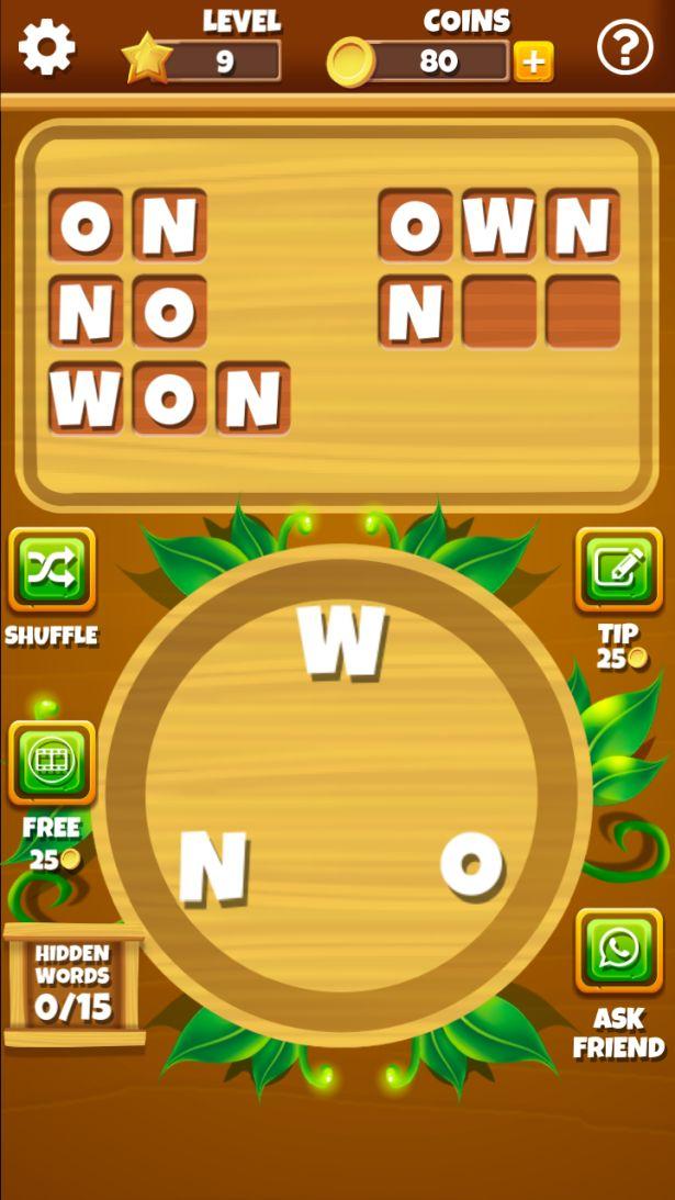 Word Jungle Screenshot