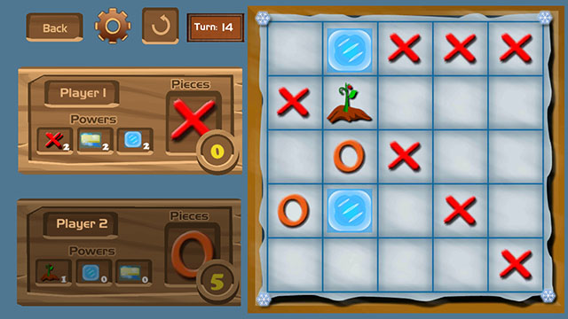 Tic Tac Toe Superpowers Screenshot
