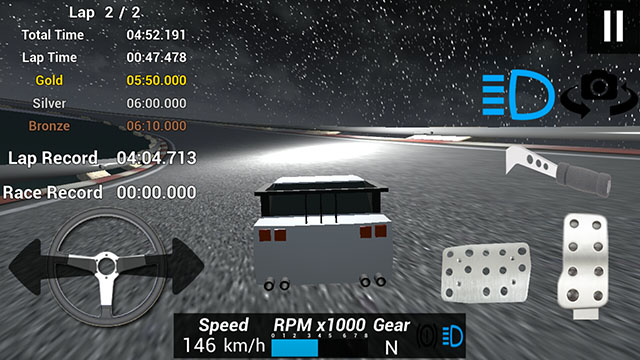 Fast Drive Time Trial Gameplay