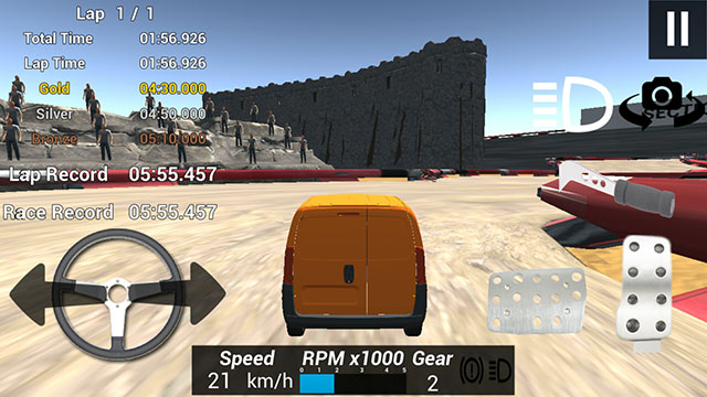Fast Drive Time Trial Screenshot