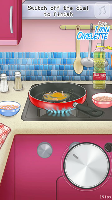 Fry Me Omelettes Gameplay