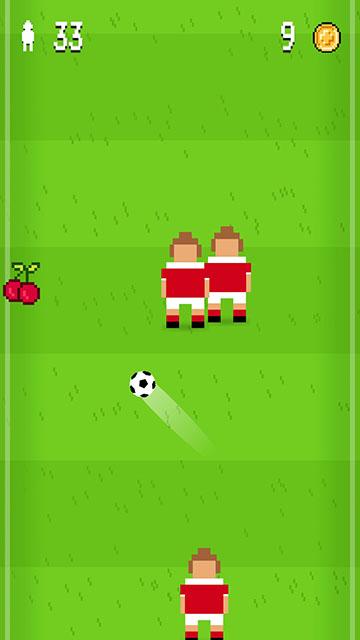 Pixel Soccer Gameplay