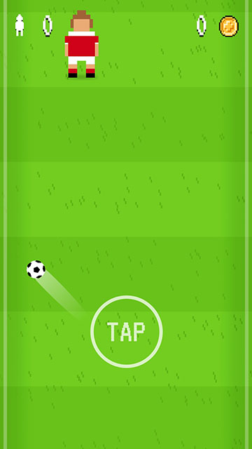 Pixel Soccer Screenshot