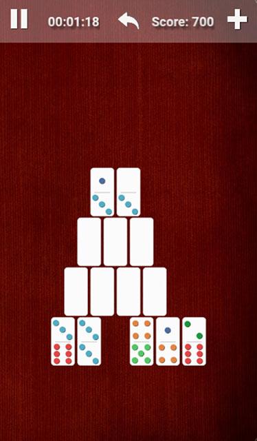 Domino Pyramid Gameplay