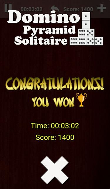 Domino Pyramid Screenshot
