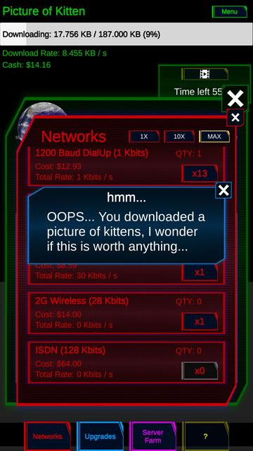 Idle Downloader Screenshot