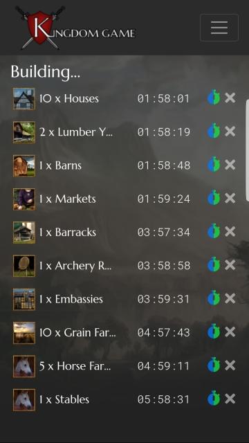 KingdomGame Gameplay
