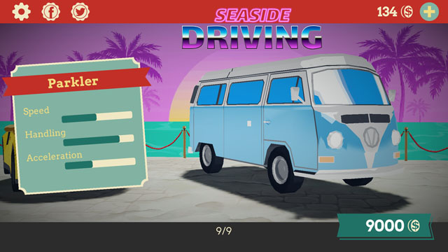 Seaside Driving Screenshot