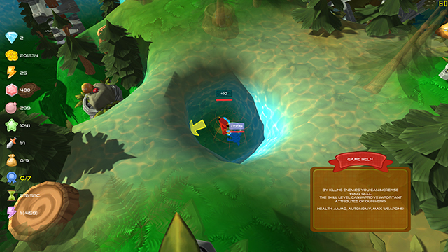 Energy Hunter Boy Screenshot